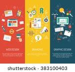 designer banner set | Shutterstock . vector #383100403