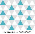 triangular background. seamless ... | Shutterstock .eps vector #383103883