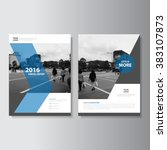 Blue Annual Report Leaflet...