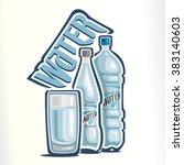 vector illustration of logo for ... | Shutterstock .eps vector #383140603