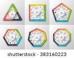 set of geometric shapes for...   Shutterstock .eps vector #383160223