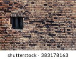 Ancient Brick Wall And Window...