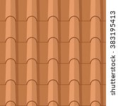 Seamless Clay Roofing Tile Fla...