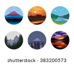 various nature icon collection  ...