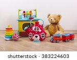 toys collection | Shutterstock . vector #383224603