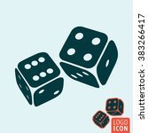 dice icon. game dices icon...