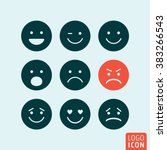 Emoticons Icon. Set Emoji Icon...