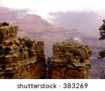 grand canyon  arizona rock... | Shutterstock . vector #383269