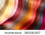 Постер, плакат: Hair Colors Palette Hair