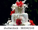 Luxury Wedding Cake On The...