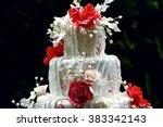 Luxury Wedding Cake On The...