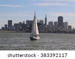 san francisco  california  usa  ... | Shutterstock . vector #383392117