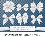 ice style elegant snowy white...   Shutterstock .eps vector #383477413