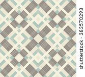 seamless abstract pattern in... | Shutterstock .eps vector #383570293