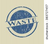 waste rubber grunge texture... | Shutterstock .eps vector #383727457