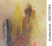 abstract grunge brush stroke...   Shutterstock . vector #383727493