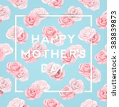 Happy Mothers Typographical...