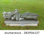 Small photo of PALANGA, LITHUANIA - AUGUST 08,2015: sculpture of Albina VertulieneIn the streets of Palanga. Palanga is the largest resort town in Lithuania.