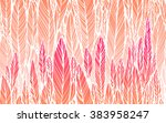 print  seamless pattern of ... | Shutterstock .eps vector #383958247