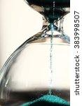 sand running through the bulbs... | Shutterstock . vector #383998507