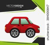 car icon design  | Shutterstock .eps vector #384000847