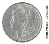Us Morgan Silver Dollar...