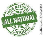 all natural organic products... | Shutterstock .eps vector #384064333