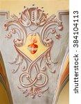sebechleby  slovakia   february ... | Shutterstock . vector #384104113