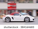 Постер, плакат: YIWU CHINA JAN 19 2016 Porsche