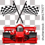 race cars | Shutterstock .eps vector #384179377