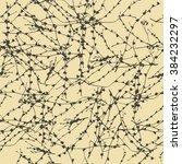 vector seamless pattern of... | Shutterstock .eps vector #384232297