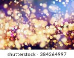 festive christmas background.... | Shutterstock . vector #384264997