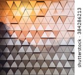 abstract architectural pattern | Shutterstock . vector #384286213
