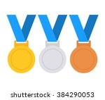 Gold  Silver And Bronze Medal...