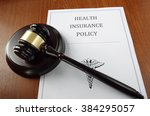 health insurance policy... | Shutterstock . vector #384295057