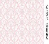 damask seamless pattern...   Shutterstock .eps vector #384318493