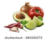 Guacamole Sauce Avocado Garlic...