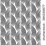 vector seamless texture. modern ... | Shutterstock .eps vector #384330877