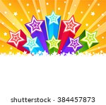 abstract star burst background. ...