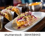 mexican fried cod fish taco...