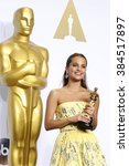 Small photo of LOS ANGELES - FEB 28: Alicia Vikander at the 88th Annual Academy Awards - Press Room at the Dolby Theater on February 28, 2016 in Los Angeles, CA
