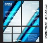 corporate identity template set.... | Shutterstock .eps vector #384656263