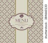 menu template for restaurants ...   Shutterstock .eps vector #384660133