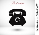 phone icon | Shutterstock .eps vector #384686437