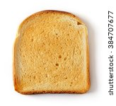 Sliced Toast Bread Isolated On...