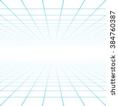 perspective grid background... | Shutterstock .eps vector #384760387