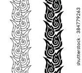 thai art seamless long pattern  ...   Shutterstock .eps vector #384779263