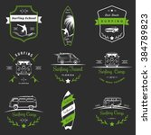 set of vector logos and badges...