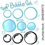 Soap Bubbles Vector Set....