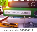 green office folder with